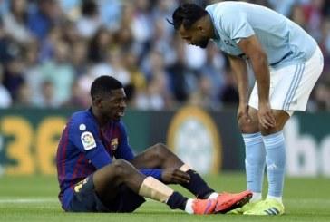 FC Barcelone : Ousmane Dembélé de nouveau blessé