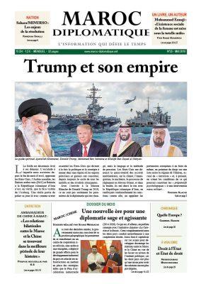 Le numéro 35 de Maroc diplomatique est dans les kiosques