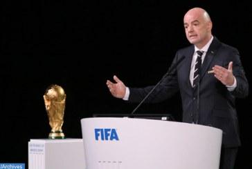 Le Mondial-2022 au Qatar se jouera à 32 équipes
