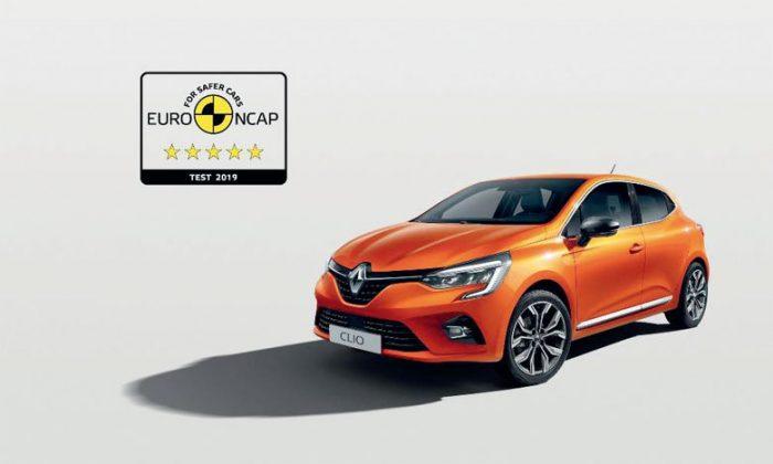 Tests de sécurité Euro NCAP: 5 étoiles pour la nouvelle Renault Clio