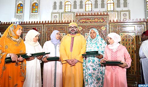 Alphabétisation: SM le Roi remet le Prix Mohammed VI aux majors du programme