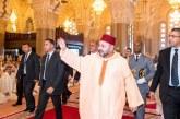 SM le Roi accomplit la prière du Vendredi à la mosquée Hassan II à Casablanca