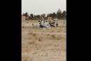 VIDÉO – Crash d'un hélicoptère de l'armée en Algérie