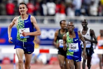 Ligue de Diamant: Soufiane El Bakkali remporte le 3000 m steeple à Doha