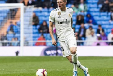 Toni Kroos au Real Madrid jusqu'en 2023
