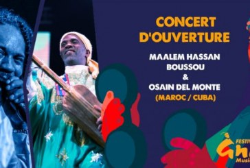 Concert d'ouverture de la 22ème édition du Festival Gnaoua d'Essaouira
