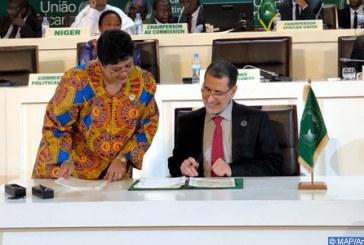 Entrée en vigueur de l'accord de la Zone de libre-échange africaine