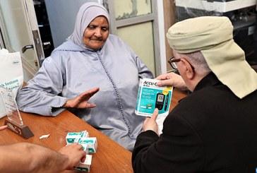 Remise d'appareils médicaux à plus de 350 diabétiques à Rabat