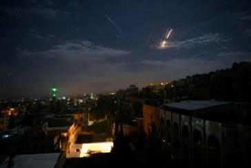La Syrie intercepte des projectiles en provenance d'Israël