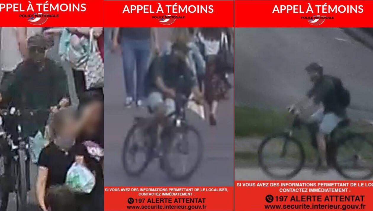 Explosion à Lyon : la police diffuse de nouvelles photos du suspect