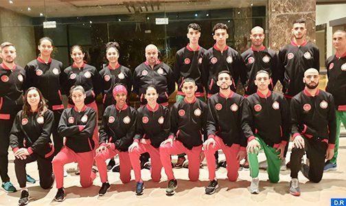 La sélection nationale de taekwondo prend part au championnat du monde 2019