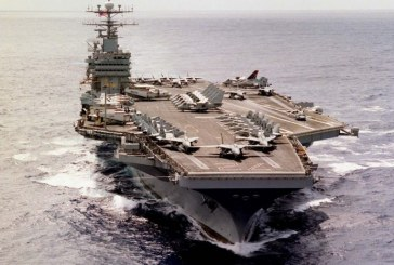Washington envoie un porte-avions et des bombardiers au Moyen-Orient