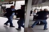 (VIDÉO) Le général Khaled Nezzar frappe un algérien qui le traitait d' «égorgeur»