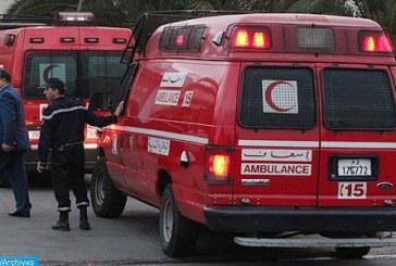 Agadir: Trois morts et 44 blessés suite au renversement d'un autocar