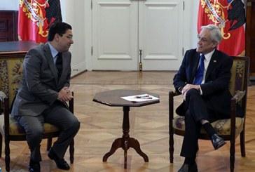 Le président du Chili reçoit en audience Bourita, porteur d'un message de SM le Roi