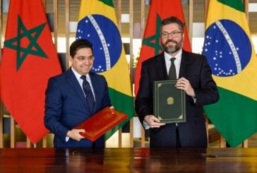 """Sahara : Le Brésil soutient le Maroc pour parvenir à """"une solution réaliste"""""""