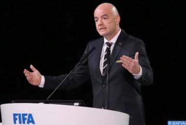 69ème Congrès de la FIFA : réélection de Gianni Infantino pour un second mandat
