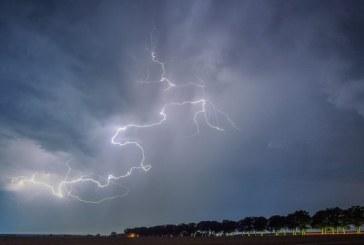 Onze départements de l'Est de la France en vigilance orange pour orages