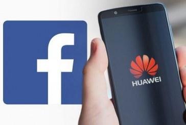 Le géant chinois Huawei privé des applications de Facebook
