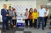 Le trophée de la Coupe d'Afrique des Nations 2019 en Tournée au Maroc avec VISA