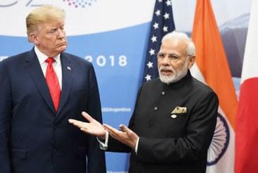 L'Inde va augmenter les taxes douanières sur des produits américains