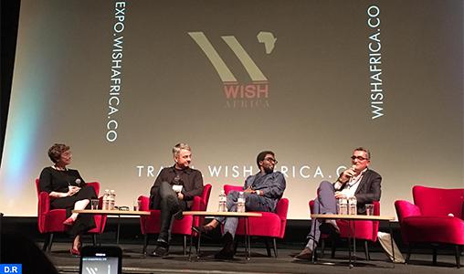 """L'exposition """"WISH Africa"""" à Londres, une occasion de """"faire briller"""" l'Afrique à l'échelle internationale"""