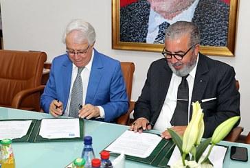 Signature d'une convention entre la MAP et l'Académie du Royaume du Maroc