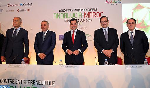 Maroc-Andalousie: volonté commune de booster les relations économiques