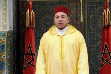 SM le Roi condamne fermement les attaques terroristes ignobles de Tunis