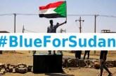 Les réseaux sociaux se parent de bleu en soutien aux manifestants soudanais