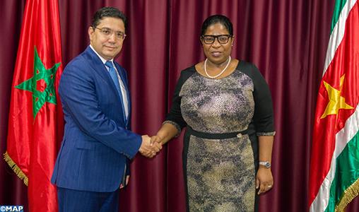Sahara: Le Suriname réitère sa décision de retrait de la reconnaissance de la fantomatique RASD
