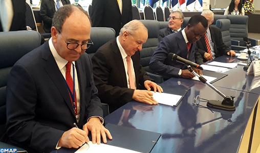 Signature d'une lettre d'intention pour la création du Forum parlementaire afro-latino-américain