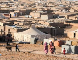 camps de Tindouf, Algérie