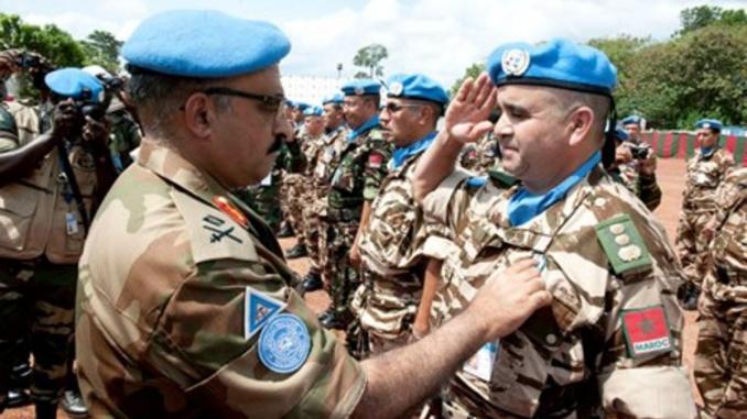 Le contingent marocain déployé en RDC décoré par la MONUSCO