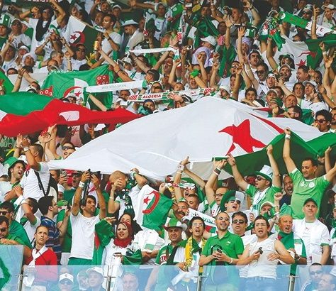 supporters algeriens