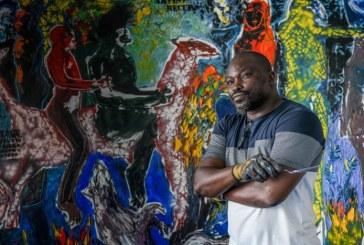 Exposition valeurs humaines de l'artiste Soly Cissé