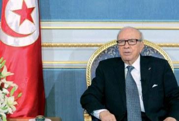 Prolongation de l'état d'urgence d'un mois en Tunisie à partir de mercredi