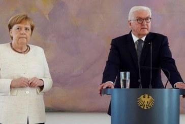 Allemagne: Merkel prise à nouveau d'un malaise lors d'une cérémonie officielle