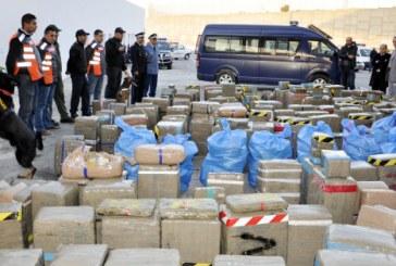 Nador : saisie record de plus de 12 tonnes de cannabis