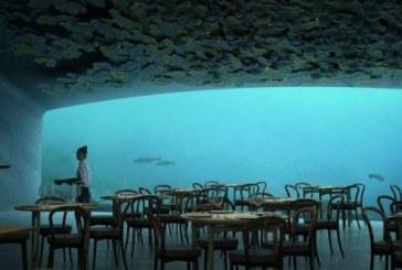 Dîner sous l'eau dans le premier restaurant sous-marin d'Europe