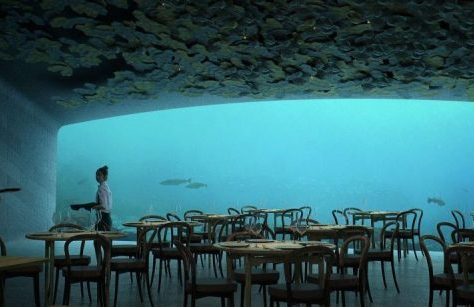 restaurant sous-marin