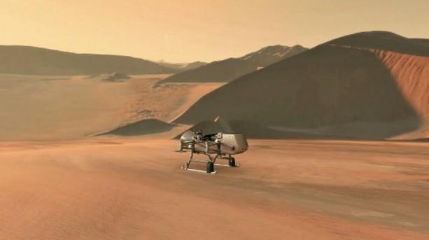 Dragonfly : la Nasa fera voler un drone sur Titan