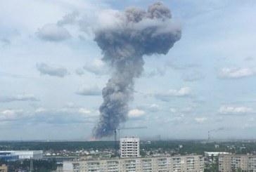 Russie: 89 blessés lors d'une déflagration dans une usine d'explosifs