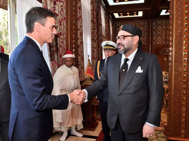 Pedro Sanchz - SM le Roi Mohammed VI