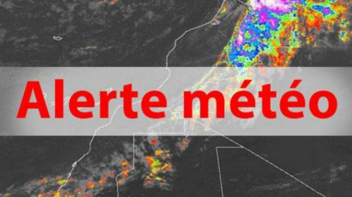 Fortes averses orageuses ce mardi dans plusieurs provinces du Royaume