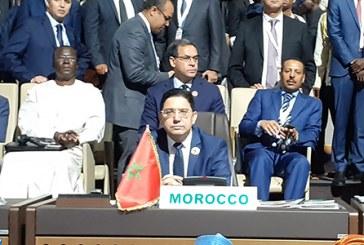 Bourita représente SM le Roi au 12ème Sommet extraordinaire de l'UA à Niamey