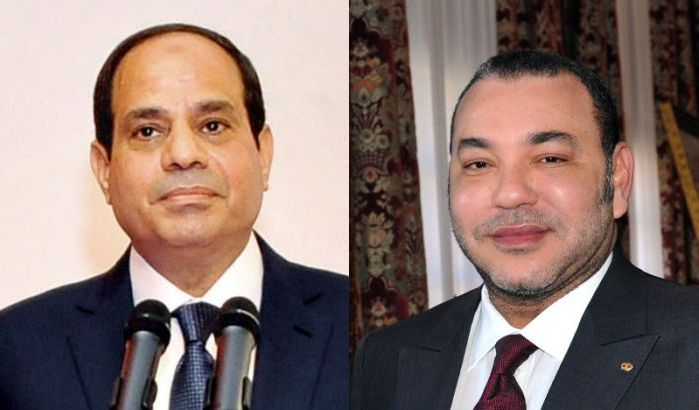 Message de SM le Roi au Président égyptien