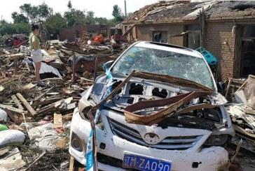 Chine: Au moins 6 morts et près de 200 blessés après une tornade