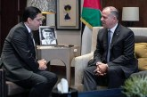 SAR le Prince Fayçal ben Al-Hussein reçoit Nasser Bourita