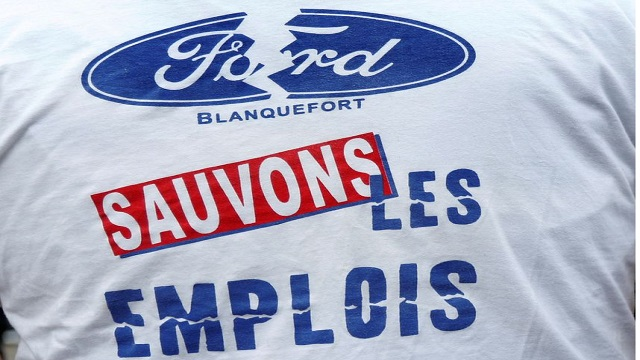 L'usine Ford Blanquefort a arrêté sa production